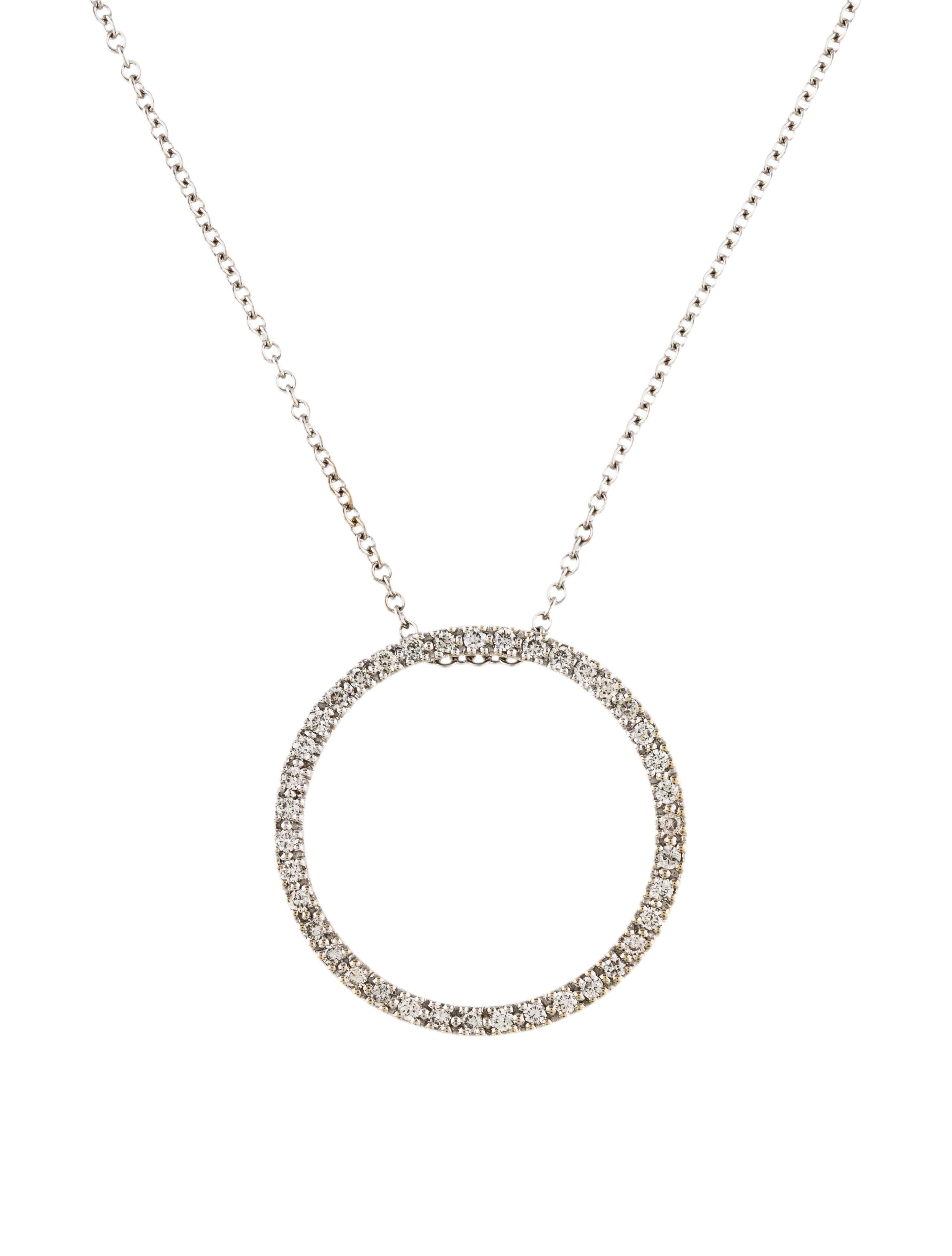 14k diamond circle pendant necklace necklaces neckl34936 the 14k diamond circle pendant aloadofball Images