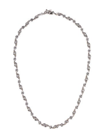 18K Link Necklace None