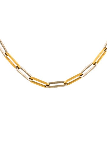 18K Chain-Link Necklace