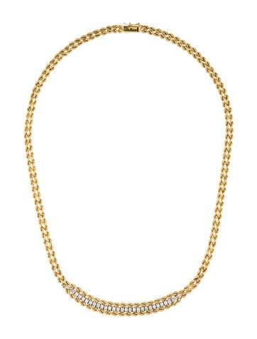 14K Diamond Collar