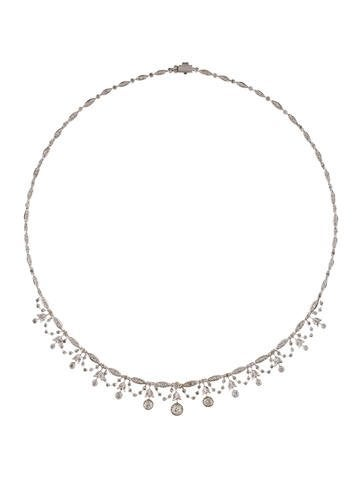 18K Diamond Garland Collar