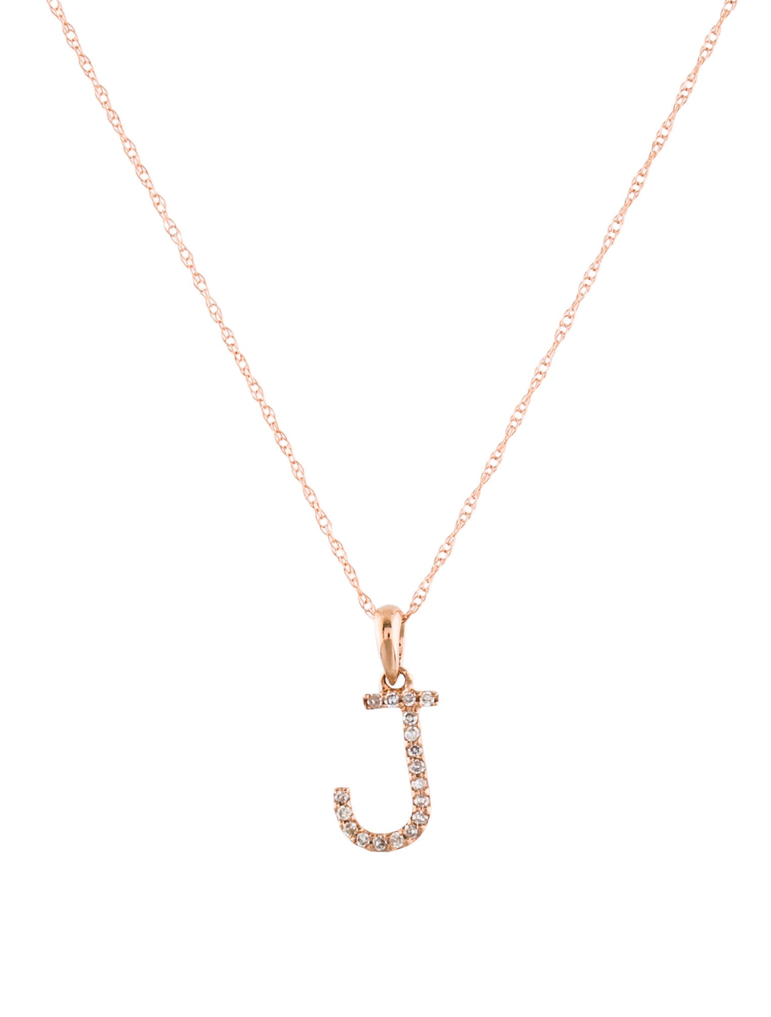 14k diamond j initial pendant necklace necklaces neckl41213 14k diamond j initial pendant aloadofball Image collections