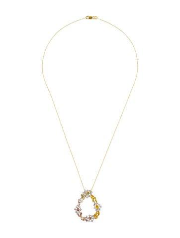 18K Diamond Pendant Necklace