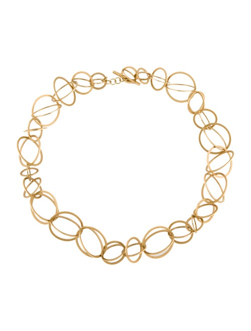 Necklace 18K Sphere Collar Necklace yellow