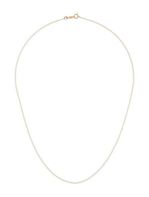 14K Chain Necklace yellow