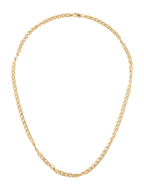 18K Chain Necklace yellow
