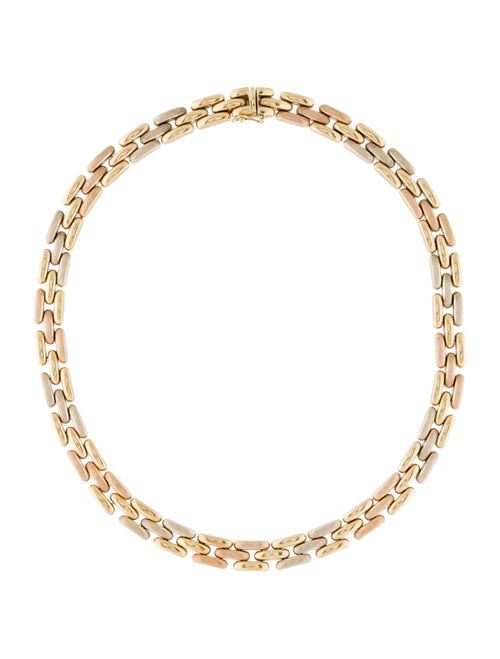 18K Chain-Link Necklace Gold