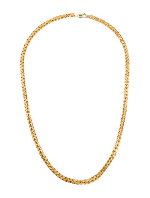 22K Chain Necklace yellow