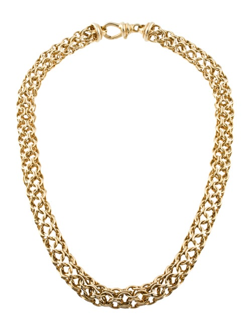 Herco 14K Chain Necklace yellow