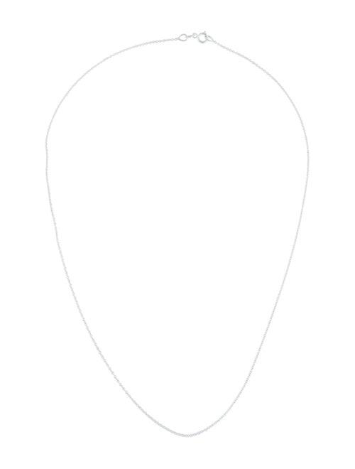 18K Chain Necklace white