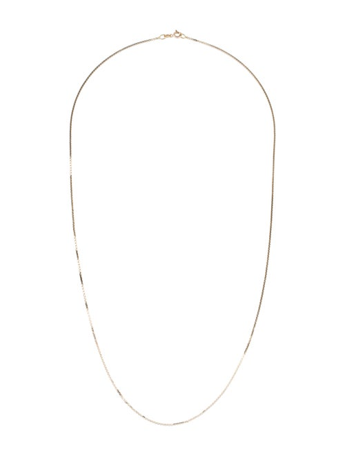 Necklace 14K Chain Necklace yellow