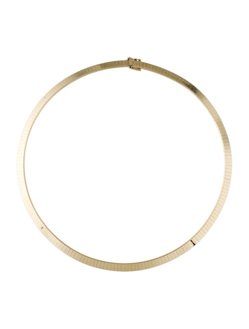 14K Collar Necklace yellow