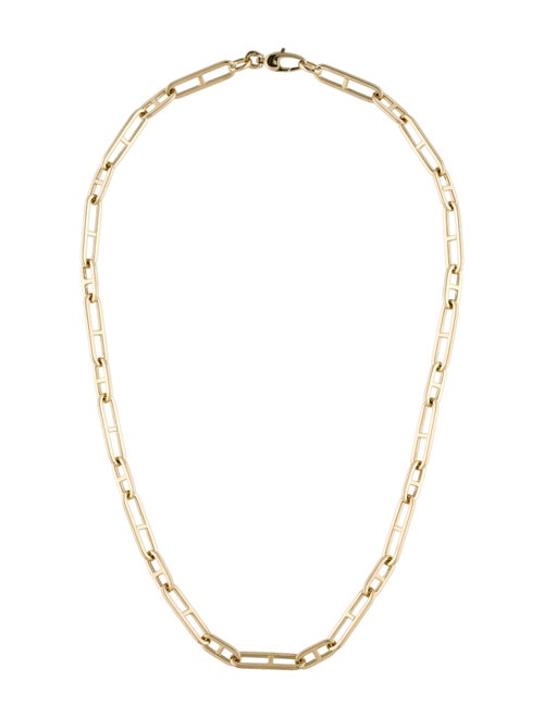 Necklace 14K Chain Link Necklace yellow