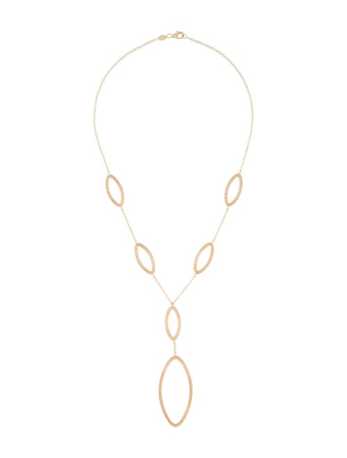 18K Lavalier Necklace yellow
