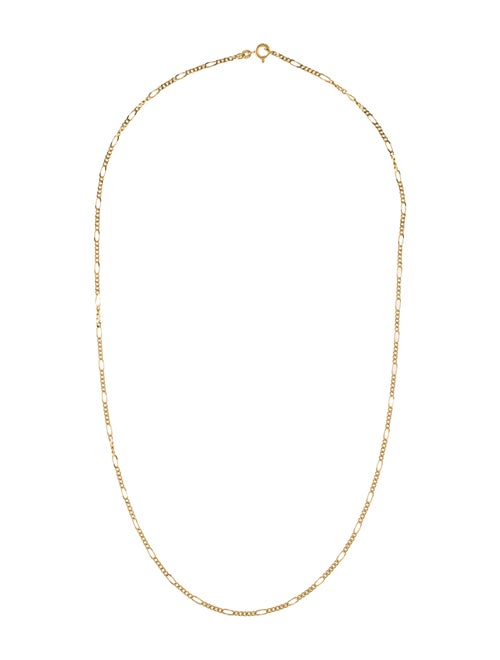 18K Link Chain Necklace Yellow