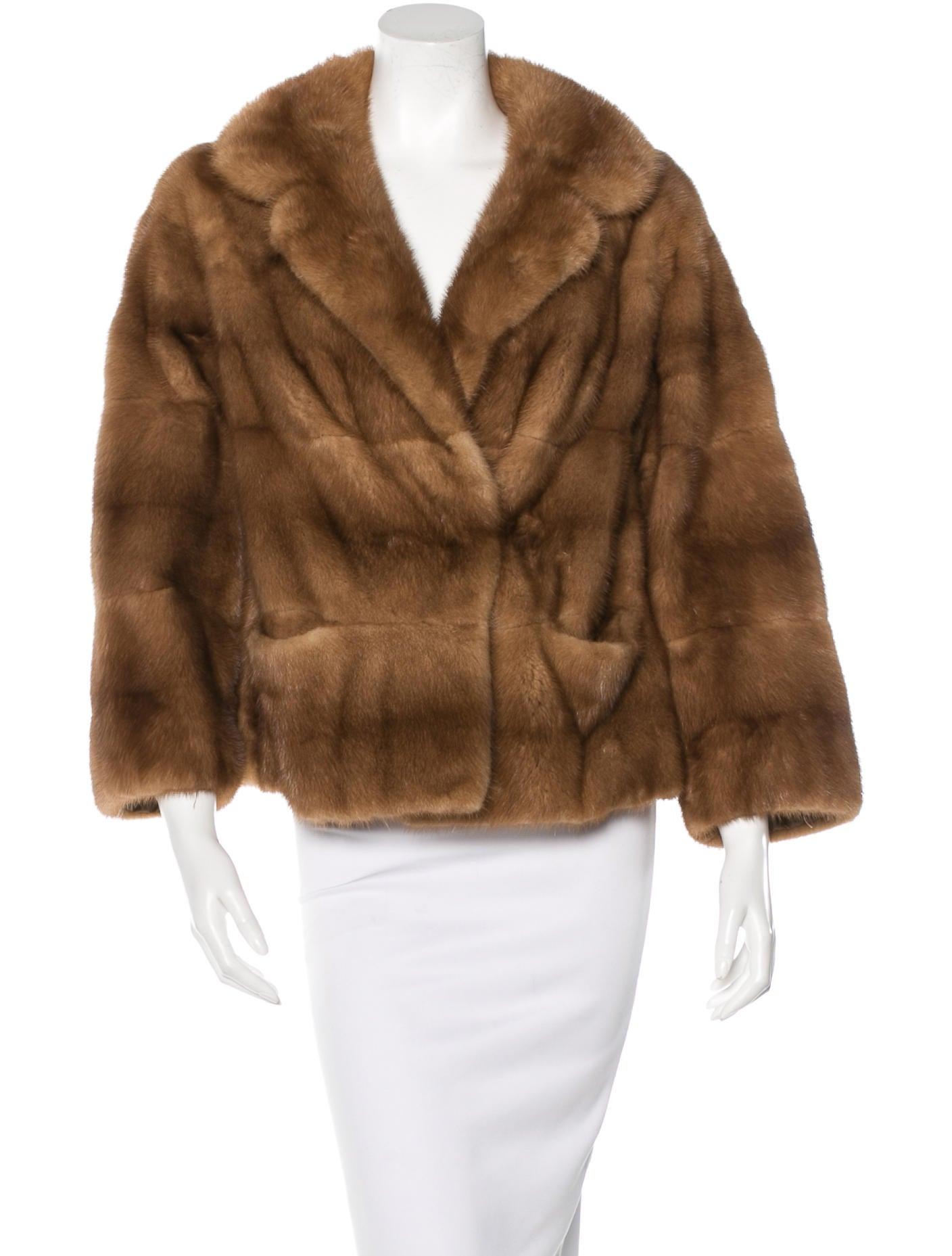 neiman marcus horizontal mink jacket clothing. Black Bedroom Furniture Sets. Home Design Ideas