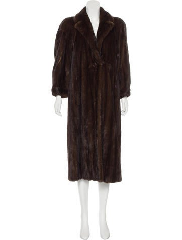 neiman marcus long mink coat clothing nemrc20219 the. Black Bedroom Furniture Sets. Home Design Ideas