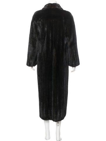neiman marcus long mink fur coat clothing nemrc20254. Black Bedroom Furniture Sets. Home Design Ideas