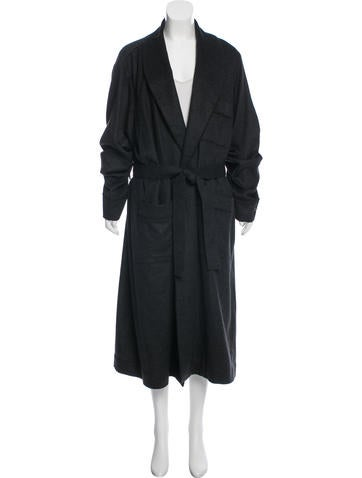 Neiman Marcus Long Cashmere Coat w/ Tags None