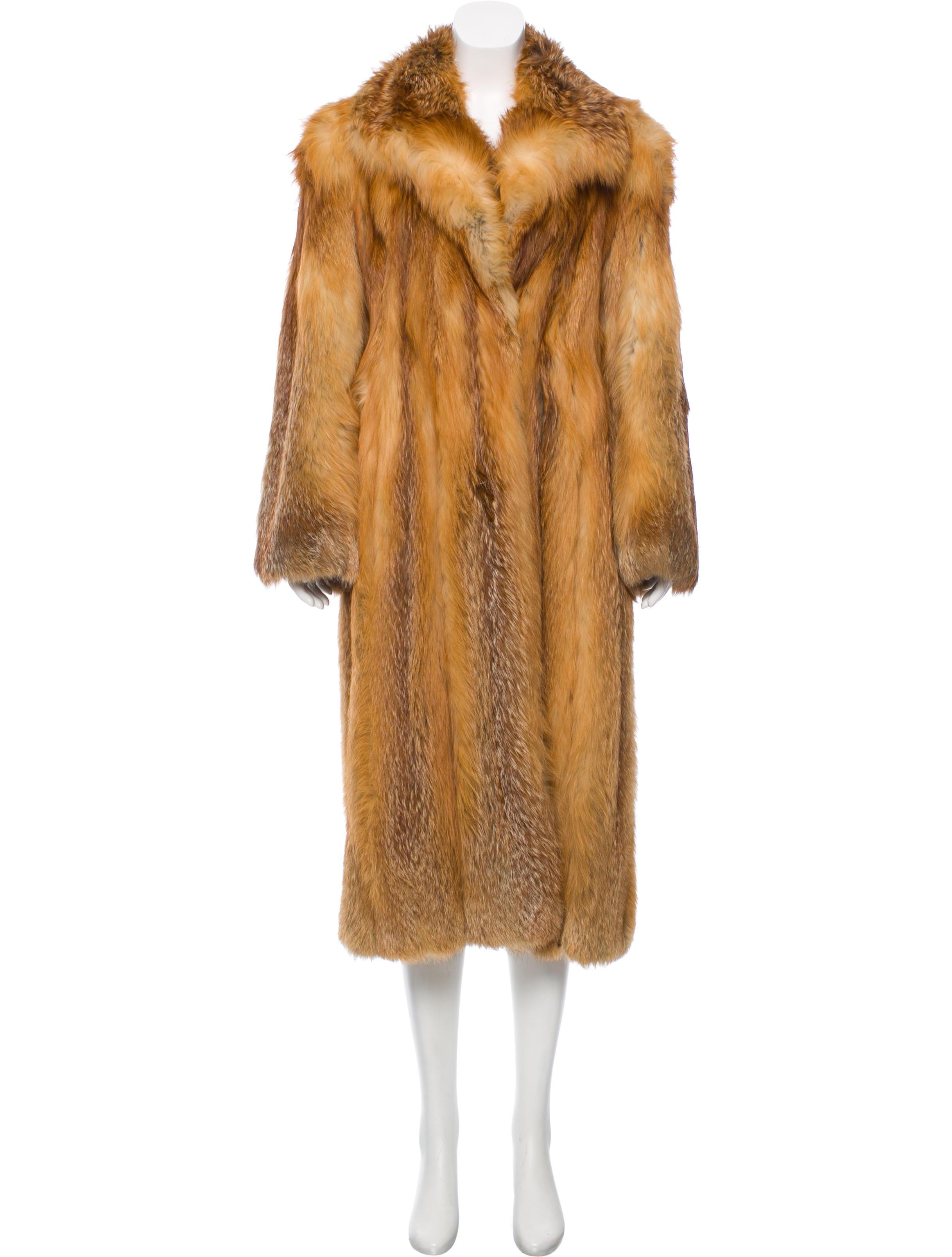 neiman marcus red fox fur coat clothing nemrc20385. Black Bedroom Furniture Sets. Home Design Ideas