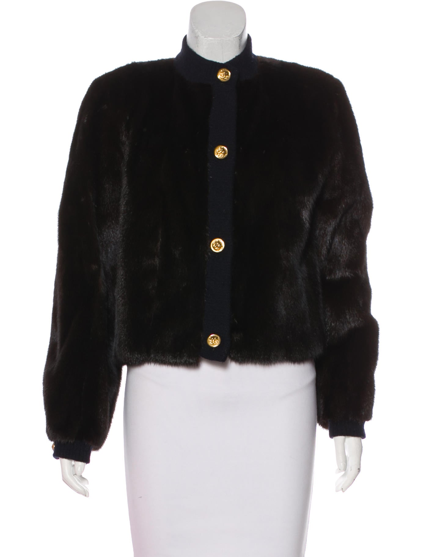 neiman marcus mink fur jacket clothing nemrc20391. Black Bedroom Furniture Sets. Home Design Ideas