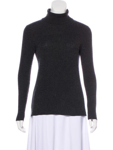 Neiman Marcus Turtleneck Cashmere Top None