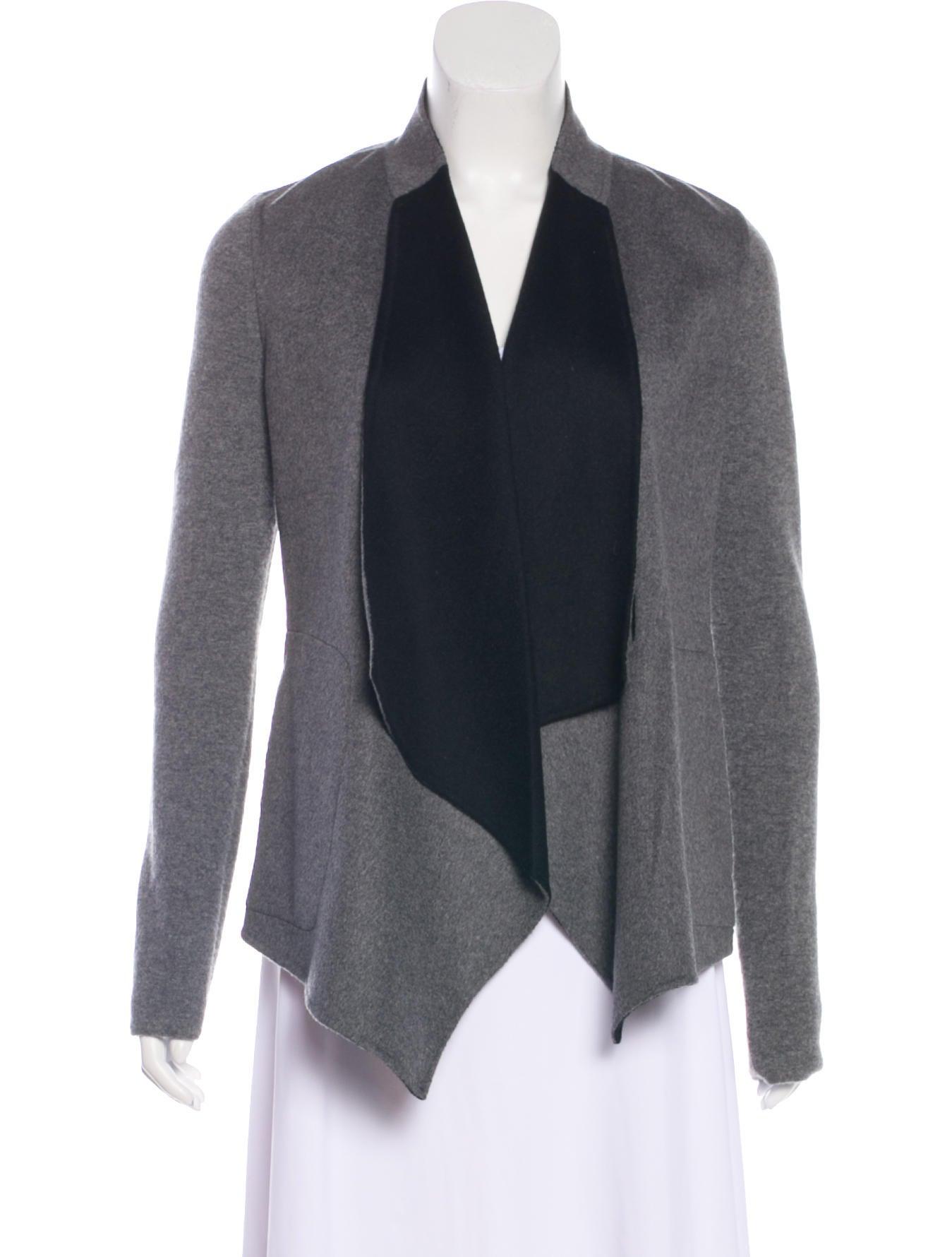 Neiman Marcus Cashmere Colorblock Cardigan Clothing Nemrc20918