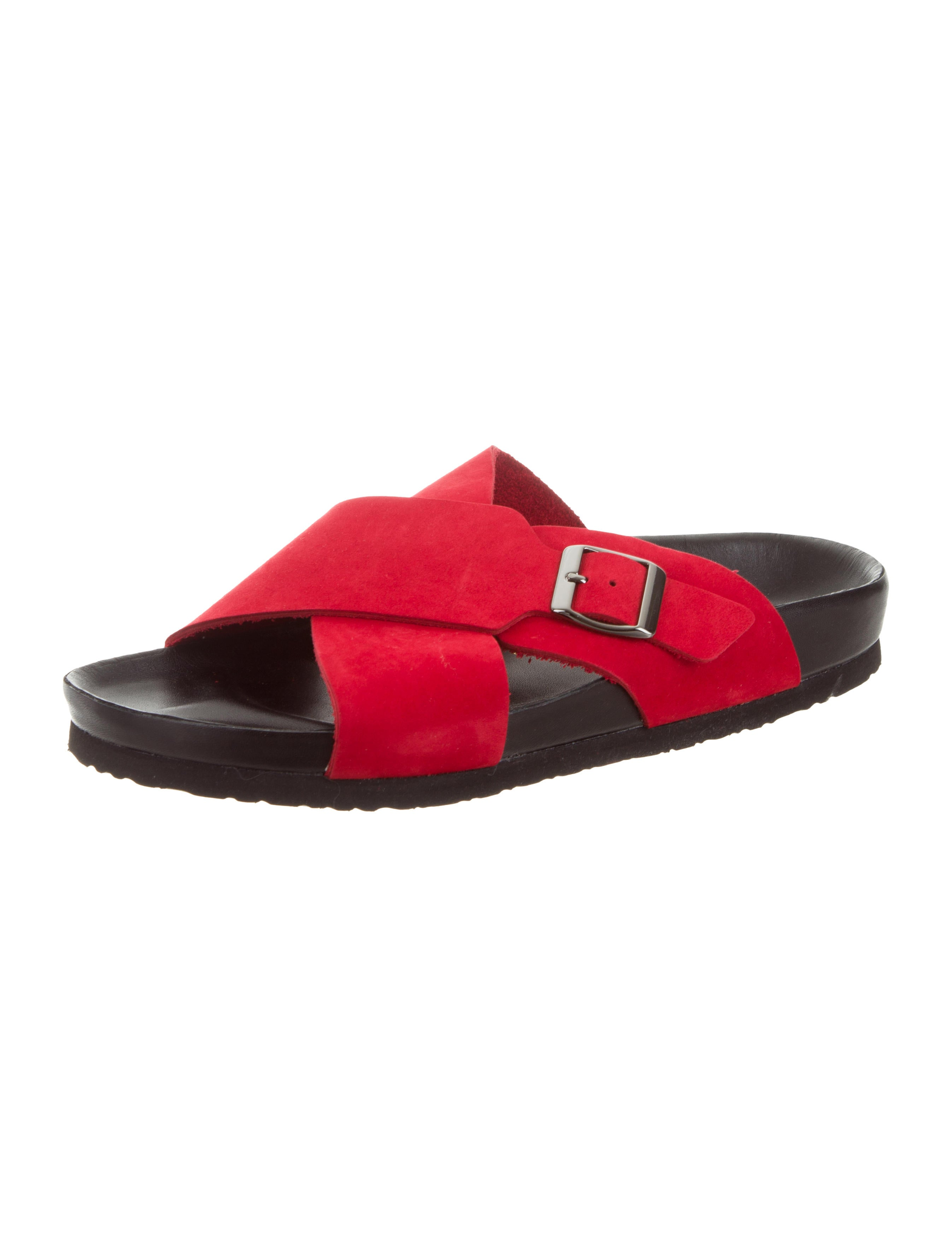 clearance store for sale NewbarK Suede Slide Sandals w/ Tags Cheapest best prices cheap online ebay for sale outlet sale online 7bXucRp0