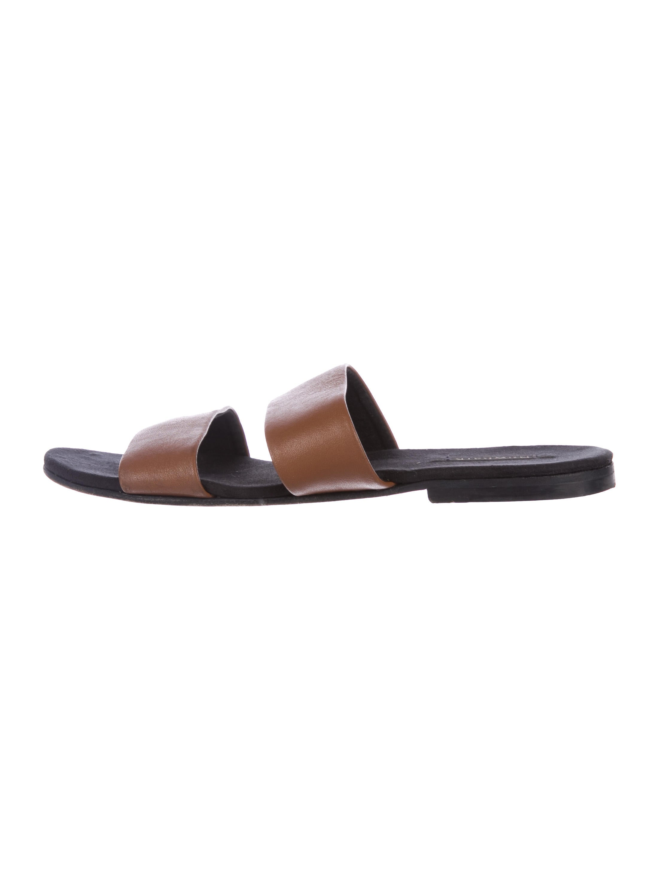 free shipping original NewbarK Leather Slide Sandals prices online sale top quality under $60 cheap online clearance lowest price jbPbf