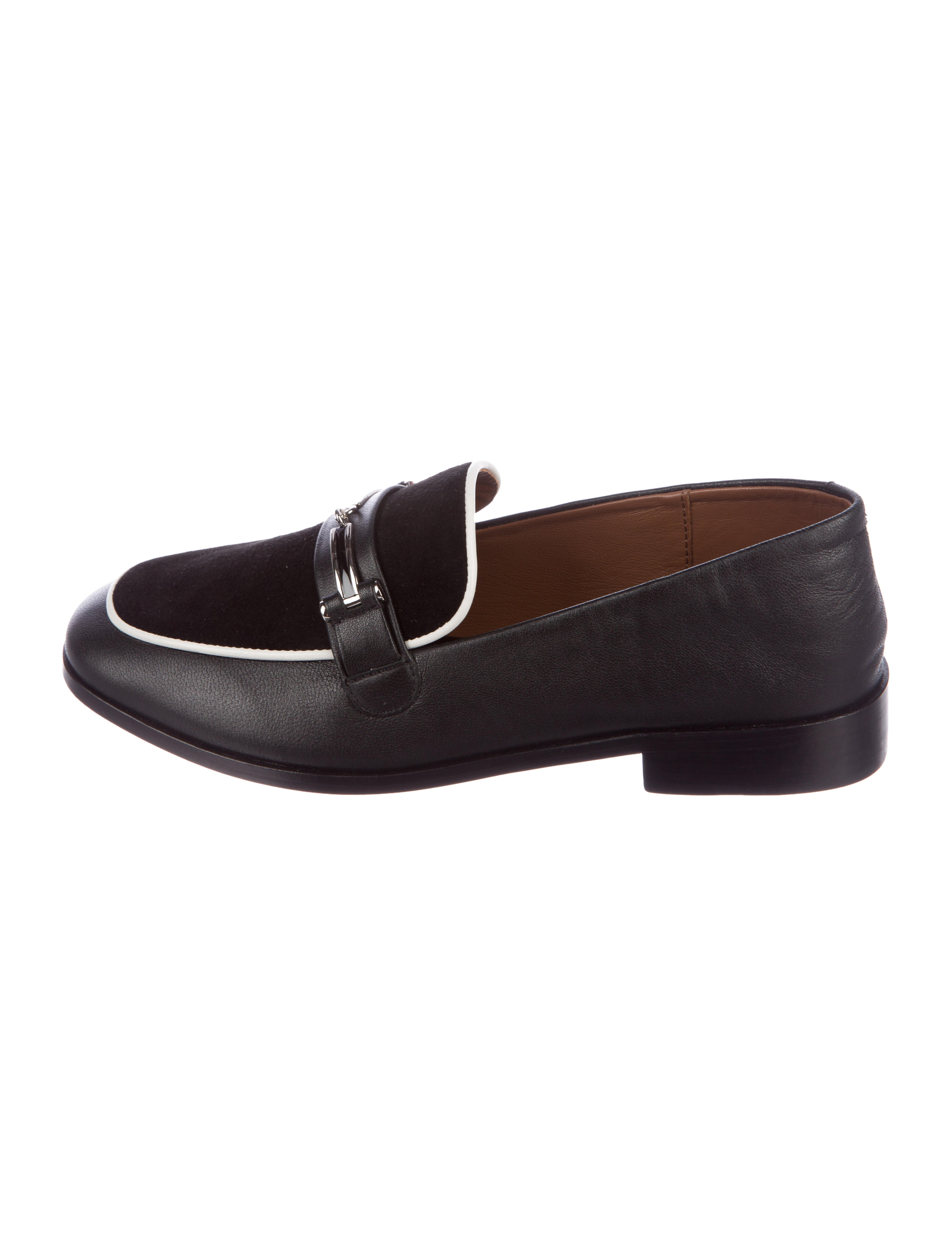 wide range of sale online NewbarK Melanie Square-Toe Loafers outlet with credit card QxgyC5
