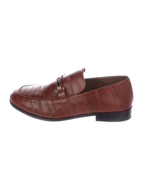 NewbarK Eel Skin Loafers Brown - image 1