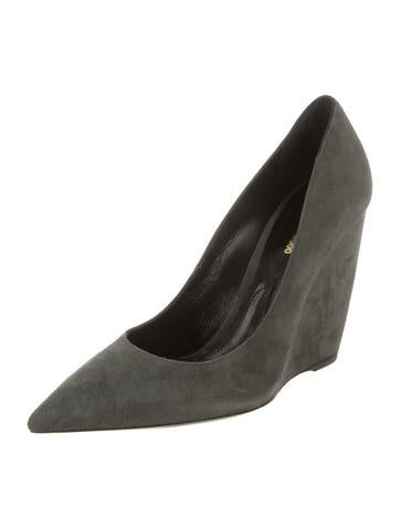 Nicholas Kirkwood Suede Lizy Wedges w/ Tags clearance pay with paypal cheap online store outlet deals 6sZ5zBN87G