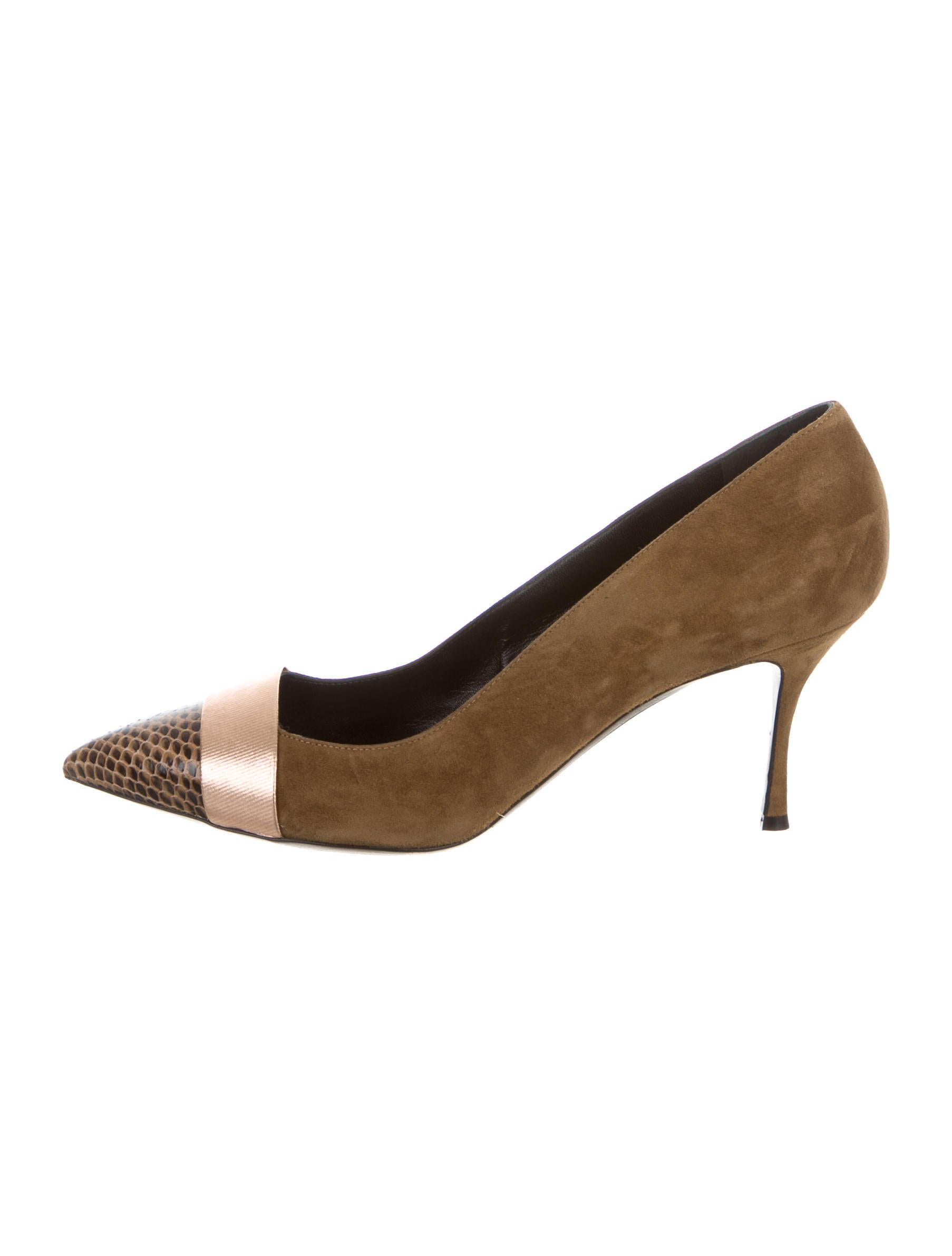 best deals Nicholas Kirkwood Snakeskin Cap-Toe Pumps cheap sale for cheap with paypal low price clearance cheap price ktcF86