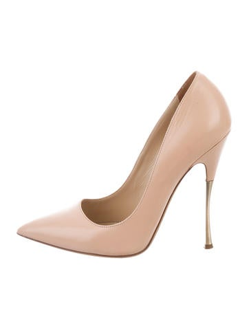 Nicholas Kirkwood Pointed-Toe Leather Pumps None