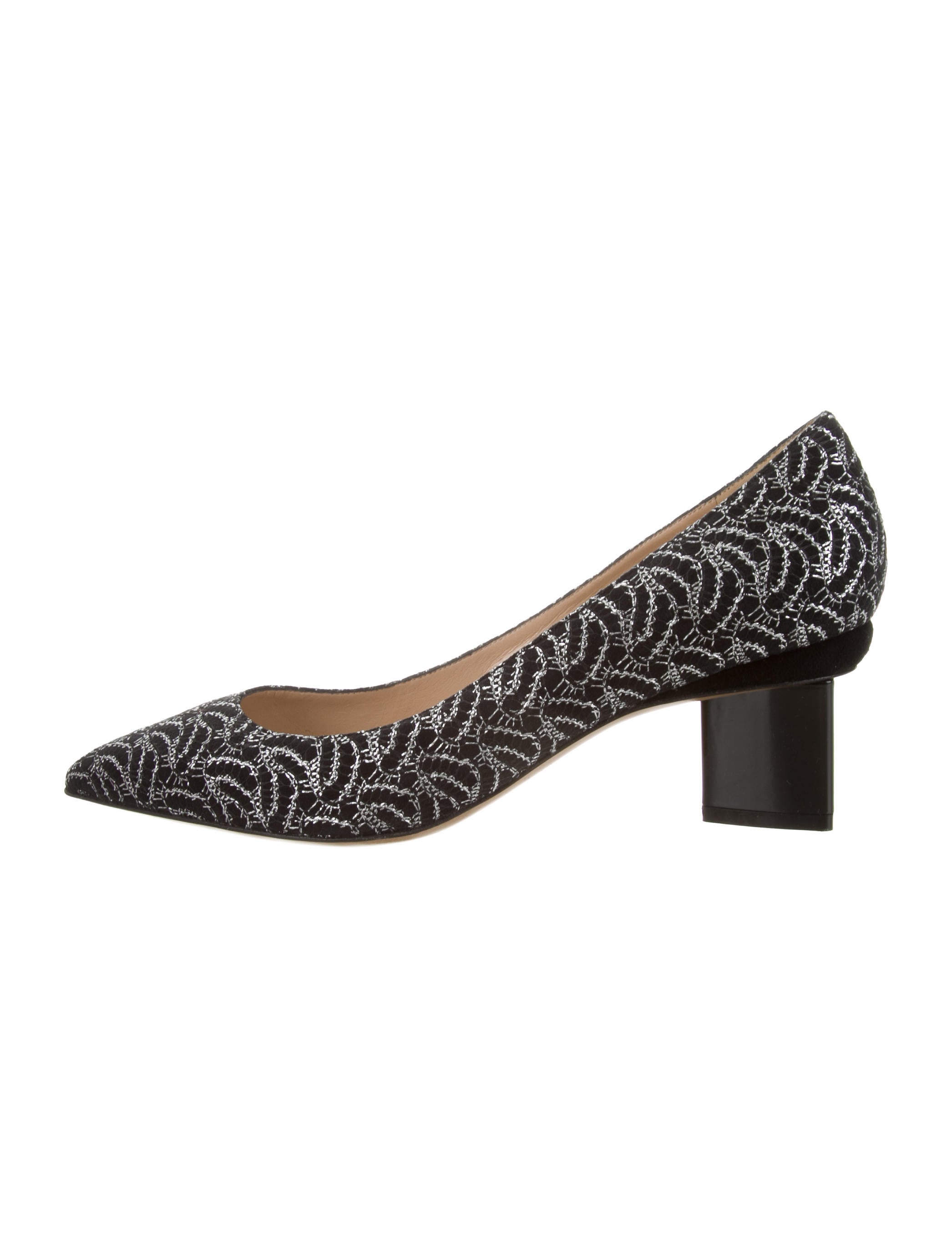 cheapest price sale online Nicholas Kirkwood Woven Pointed-Toe Pumps footlocker pictures online h9kyR7nj