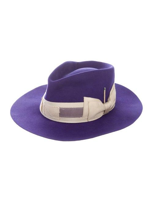 Nick Fouquet Felt Fedora Hat w/ Tags purple