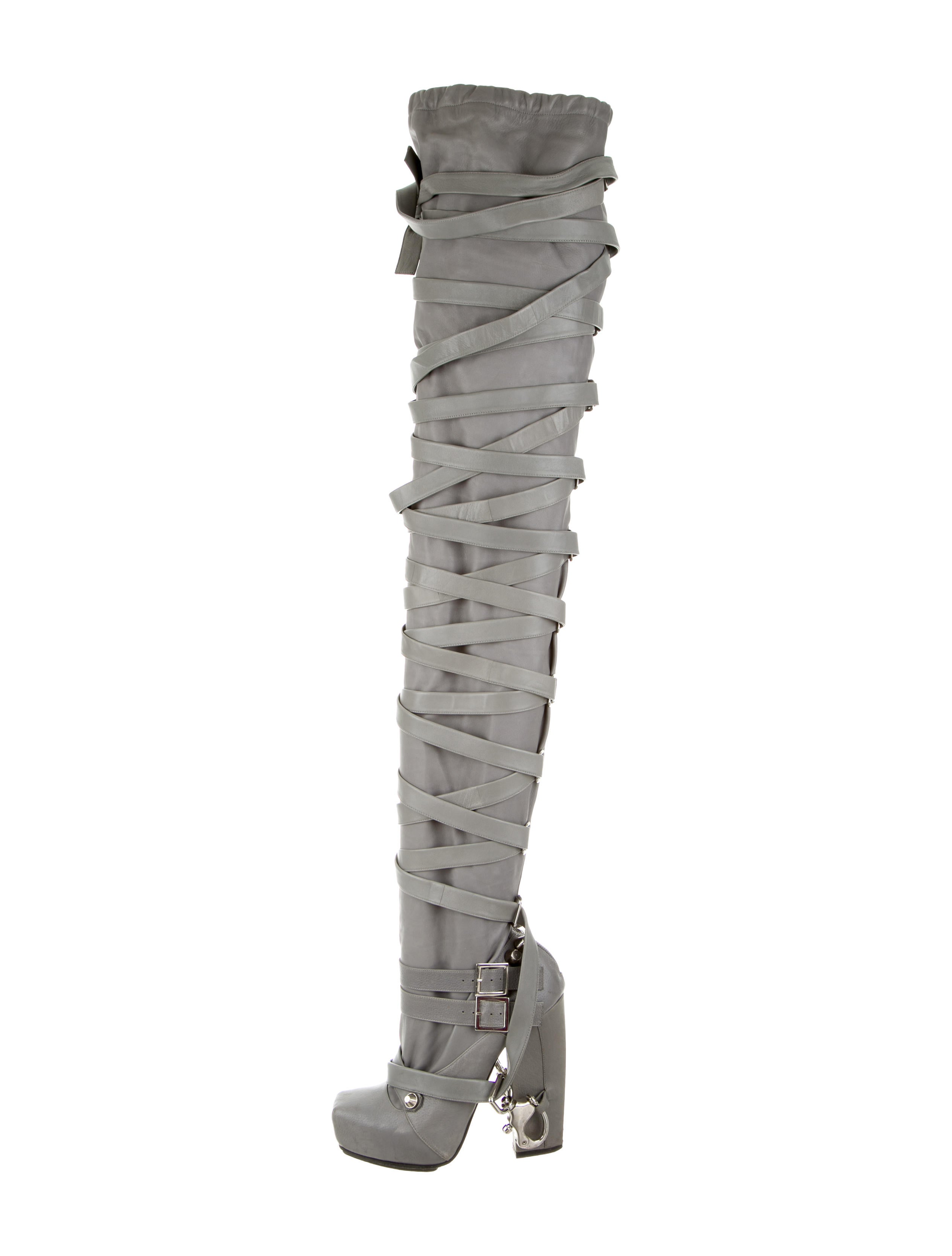 best wholesale cheap online clearance online official site Nicholas Kirkwood x Rodarte Bondage Thigh-High Boots free shipping 100% guaranteed L6tkkNJH