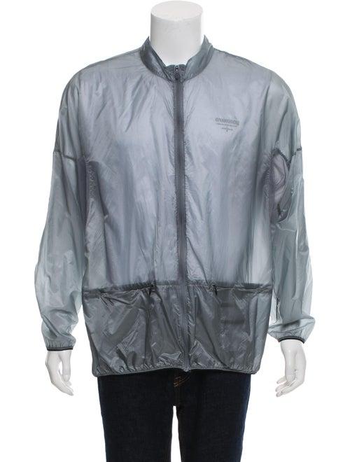 Nike Gyakusou Hooded Windbreaker Jacket grey