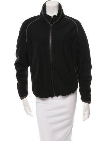 Nina Ricci Cutout Bomber Jacket