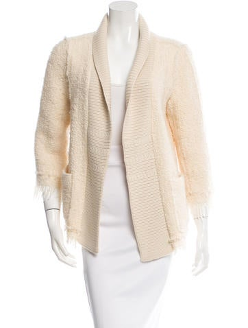 Nina Ricci Open Front Wool Jacket None