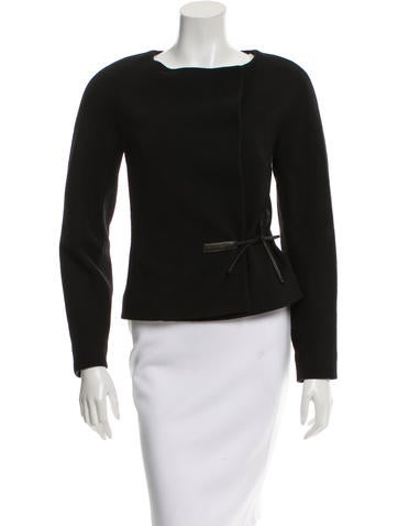 Nina Ricci Wool Long Sleeve Jacket None