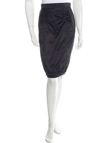 Nina Ricci Silk Pencil Skirt w/ Tags