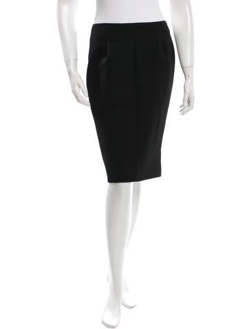 Nina Ricci Classic Pencil Skirt None