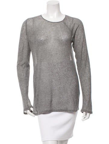 Nina Ricci Long Sleeve Knit Top None