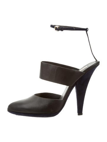 Nina Ricci Multistrap Pointed-Toe Pumps None