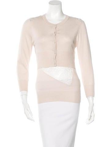 Nina Ricci Cashmere Knit Cardigan None
