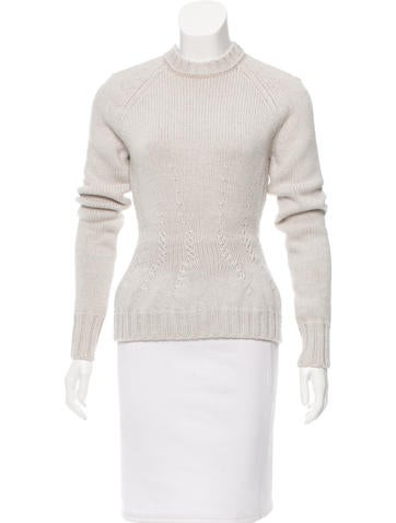 Nina Ricci Fitted Wool Sweater None