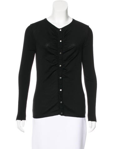 Nina Ricci Wool Button-Up Cardigan None