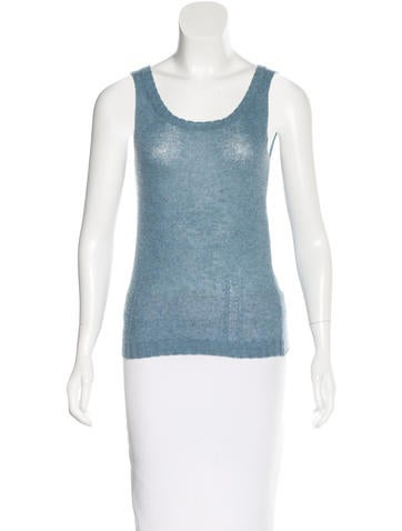 Nina Ricci Cashmere Sleeveless Top None