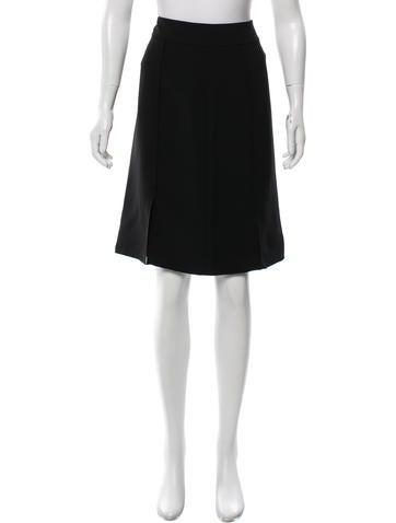 Nina Ricci Knee-Length Pencil Skirt w/ Tags None
